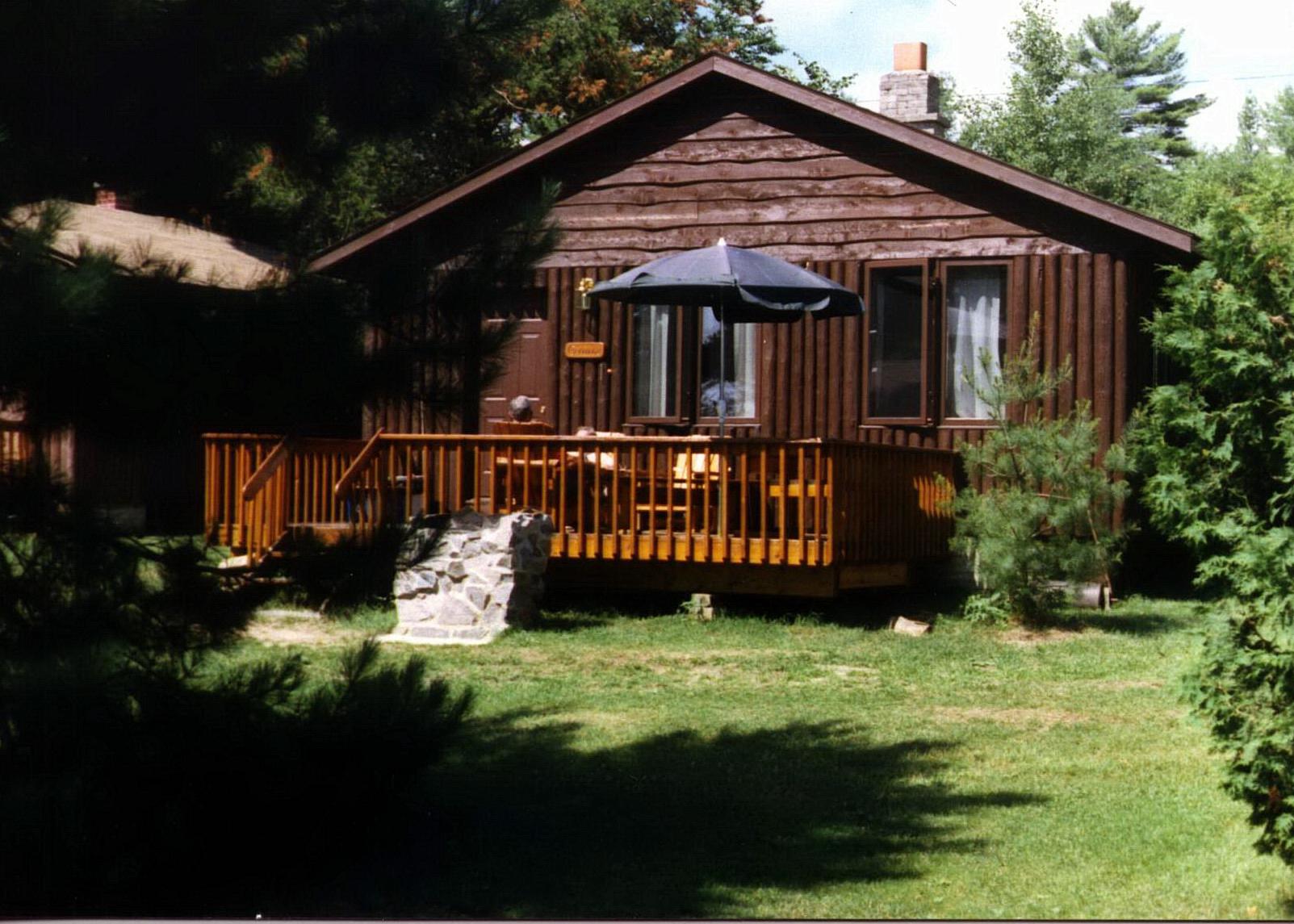 Goose Cottage outside.